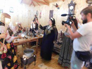 Maria Campina in ritual de zi